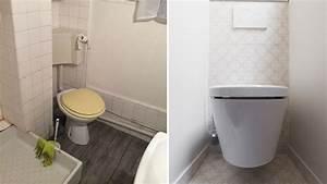 avant apres optimiser l39espace dans une petite salle With salle de bain espace reduit