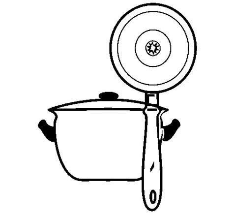 dessin casserole cuisine coloriage casserole de cuisine dessin gratuit à imprimer