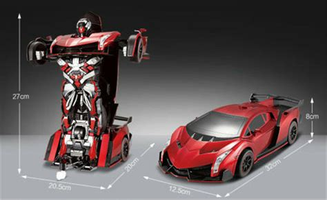 Car Distortion Toys Rc Remote Control Robot Gifts Toy