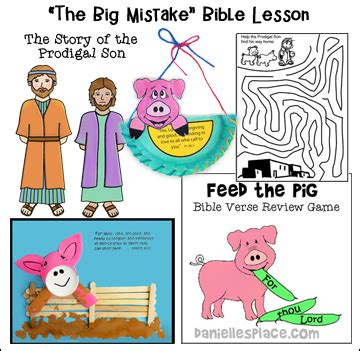 sample sunday school lesson for children 959 | prodigal son bible lesson