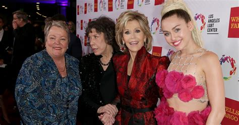 Miley Cyrus at LGBT Center's Vanguard Awards - Daily Record