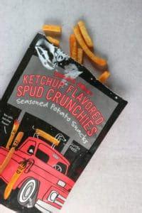 Trader Joe's Ketchup Flavored Spud Crunchies | BecomeBetty.com
