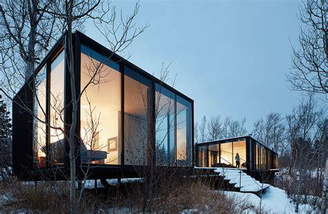 weekend house snow kreilich architects