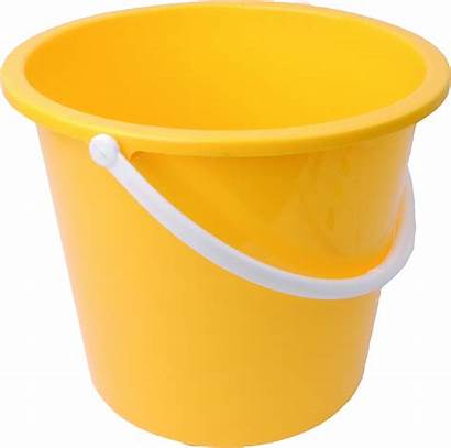 Clipart Water Tub Bucket Plastic Transparent Yellow