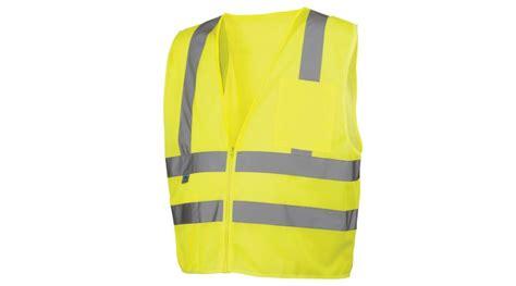 Class 2 Hi-vis Lime Safety Vest