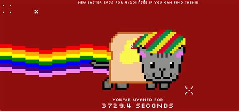 Nyan Cat Easter Eggs  The Tech Game