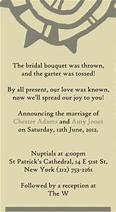 non traditional quotes quotesgram With traditional wedding invitation wording from bride and groom