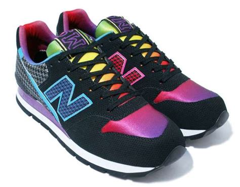 new balance colorful rainbow sneakers atmos and new balance cm996 sneakers are