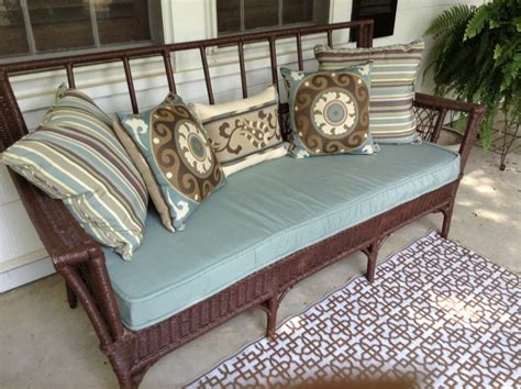 Wicker Settee Cushions Outdoor by Wicker Settee Cushions 3 Pieces Cookwithalocal Home And