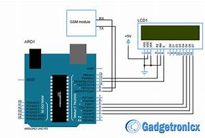 Wireless Notice Board Using Arduino And Gsm