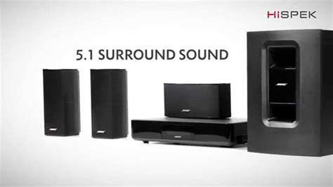 bose cinemate 520 5 1 home cinema system with 4k passthrough and wreless acoustimass module