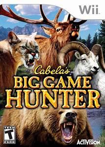 Cabela39s Big Game Hunter 2008 Nintendo WII Game