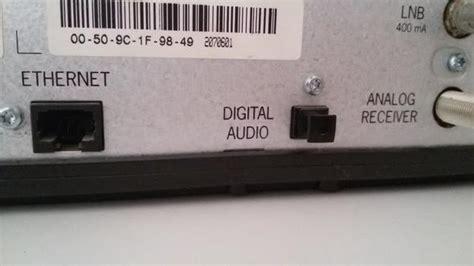 digital audio und optischer eingang technik anschluss
