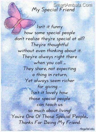 special friend quotes special quotes about friends quotesgram