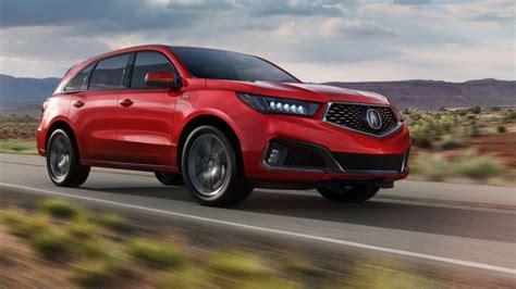 2019 Acura Mdx Threerow Crossover Gets Sharper Handling