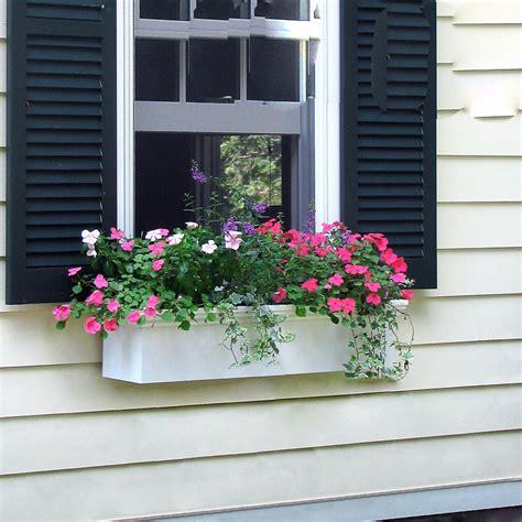 Window Planters by Newport Self Watering Window Box Planters