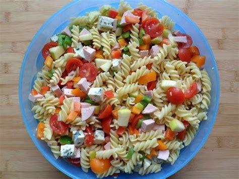 salade de pates recette les meilleures recettes de salades et p 226 tes