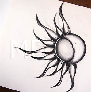 Sun and Moon Tattoo by horseridertirsola on DeviantArt