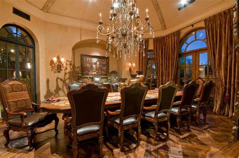 formal dining room mediterranean dining room