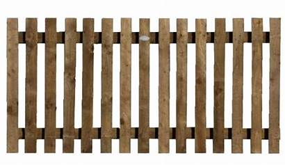 Fence Transparent Clipart Picket Wood Background Wooden