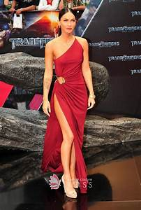 Megan Fox Red Dress Transformers Germany Premiere - Lunss