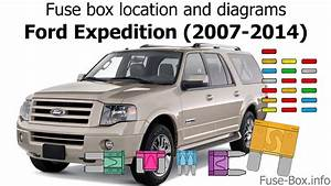 Fuse Box Location And Diagrams  Ford Expedition  2007-2014