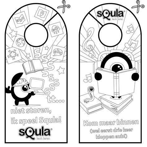 Kleurplaten Printen by Squla Kleurplaten En Puzzels Voor Kinderen