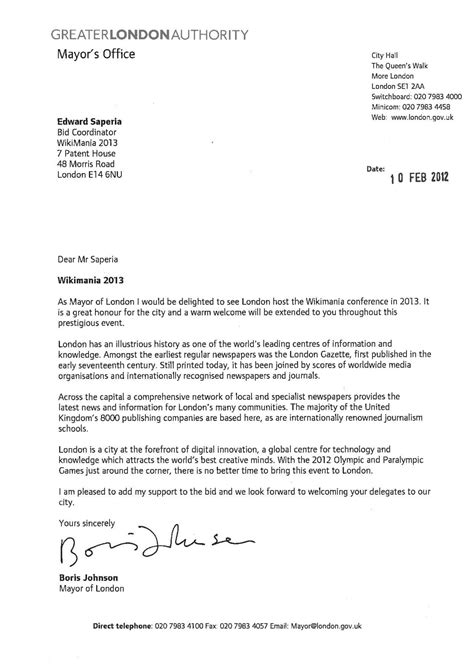 File:Wikimania 2013 London letter of support Mayor of