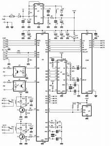 Gsm Remote Control  U2013 2 In And 2 Out Dtmf Part 2  U2013 Schematic