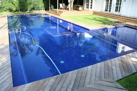 glass tile pools modern pool miami  foreverpools