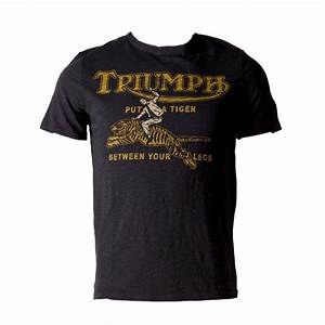 Triumph Johnson Motors Tiger T-Shirt - Men's #Triumph # ...