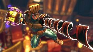 ARMS39 First Character DLC Will Be Max Brass Spectator