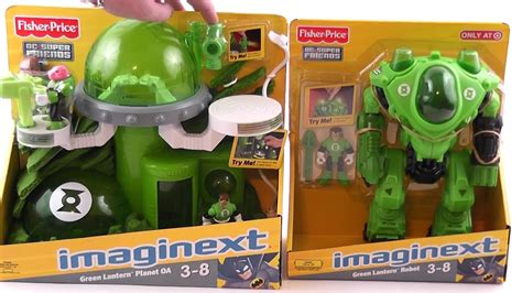 green lantern imaginext robot planet oa