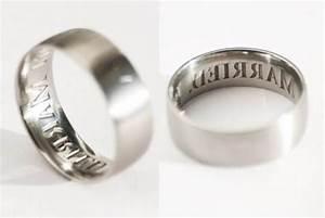 Anti cheating wedding ring brands marital status on wearer for Anti wedding ring