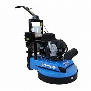 Aztec 24quot propane sidewinder floor stripping machine for Propane floor stripping machine