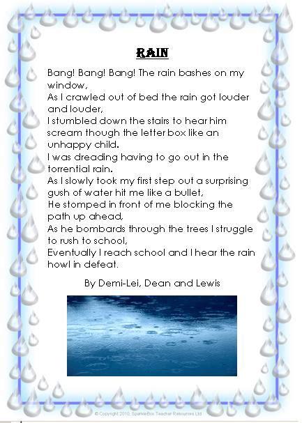 year  rain personification poems st oswalds catholic