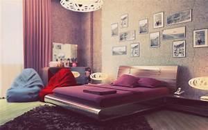 purple cream bedroom interior design ideas With bedroom design for girls purple