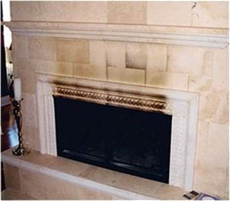 cleaning marble fireplaces