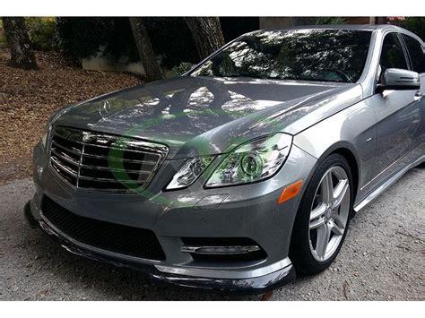 The body styles of the range are: Mercedes W212 E350/E550 Carlsson Style Carbon Fiber Front Lip Spoiler