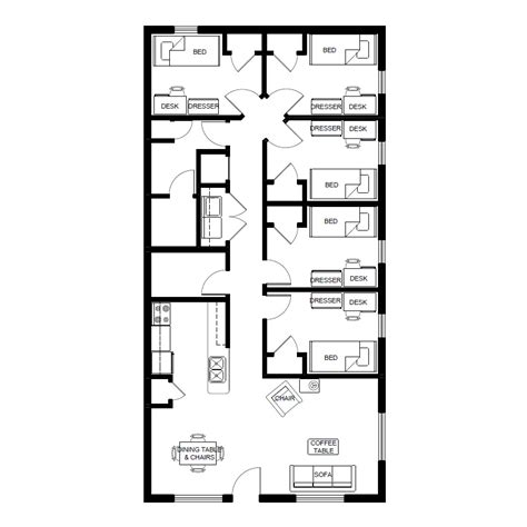 mansfield floor plans living  campus