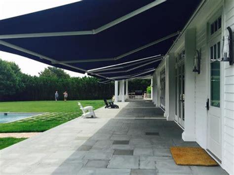 motorized retractable awnings houston sunesta awnings shade shop