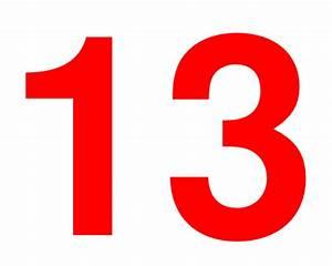 Number 13 Clip Art at Clker.com - vector clip art online ...