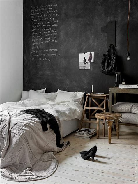 chalkboard wall in bedroom chalkboard wall ideas to create a unique interior homestylediary com