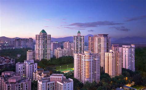 hiranandani estate towers luxury township  thane west