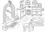 Coloring Basement Keller Malvorlage Cave Para Dibujo Coloriage Colorear Drawing Kleurplaat Kelder Dessin Maison Sotano Colouring Edupics Printable Herunterladen Große sketch template
