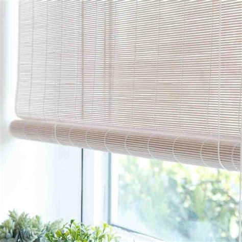 white bamboo blinds decor ideasdecor ideas