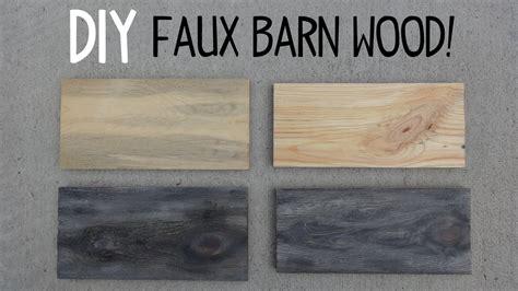 diy faux barn wood paint trick youtube