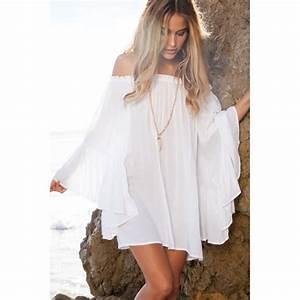 robe d39ete fluide blanche taille unique blanc achat With robe d été fluide
