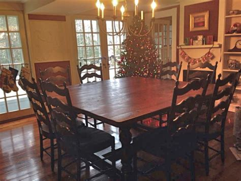 72 dining room table 72 square table with custom trestle base ecustomfinishes 7379