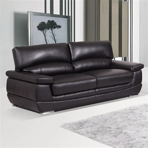 Black Settees by Stylish Leather Sofas Leather Sofas With Style